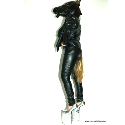 chaussures pony travesti