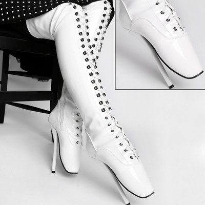 cuissardes ballets blanches travestishop