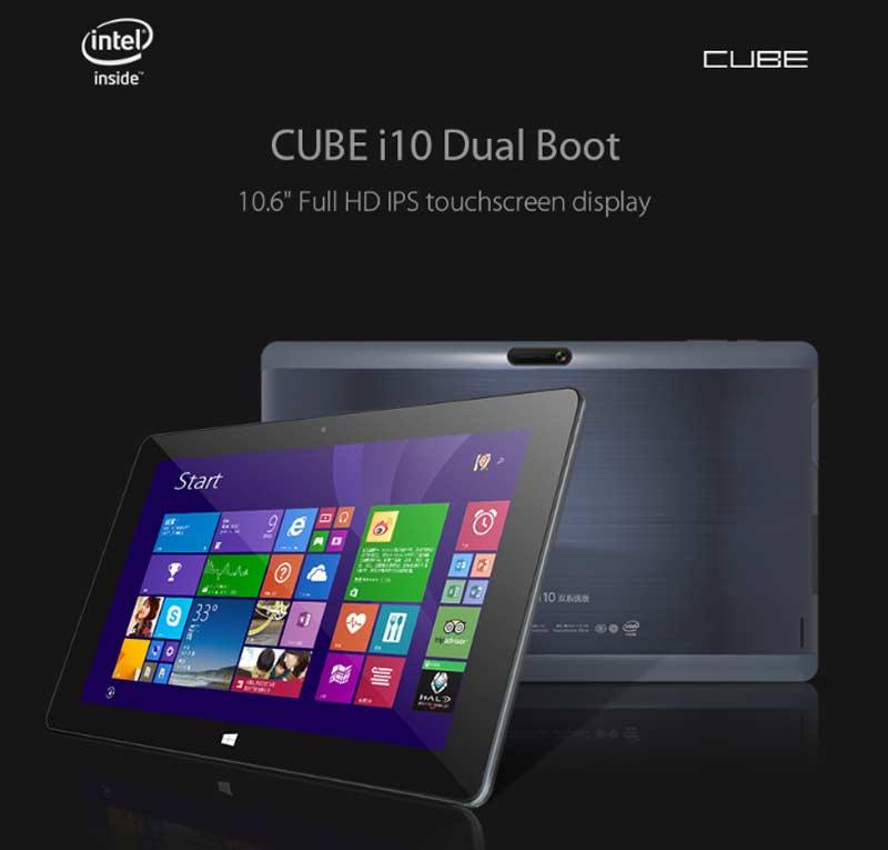 Cube i10 Dual OS