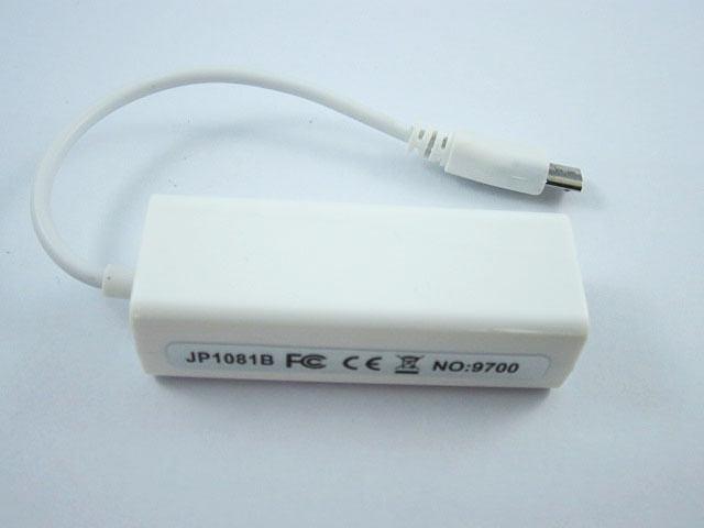 ADAPTATEUR RESEAU RJ45 MICRO USB MALE