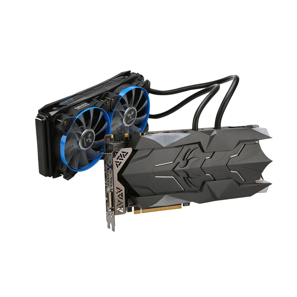 colorful d\'iGame GTX1080Ti W GPU refroidssement liquide