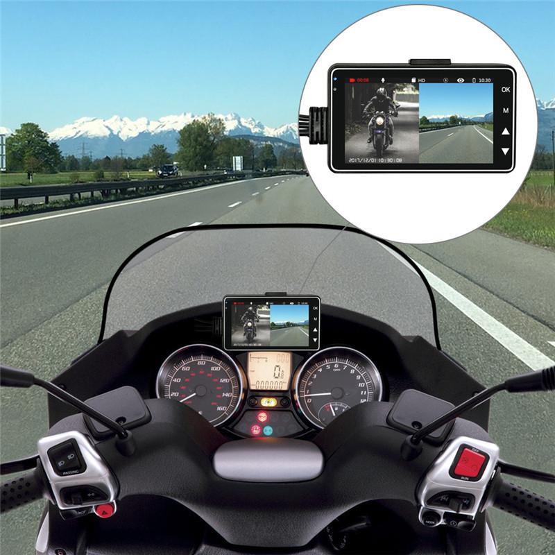 Caméra DVR special moto et scooter