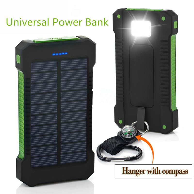 powerbank solaire  batterie 30000mah.
