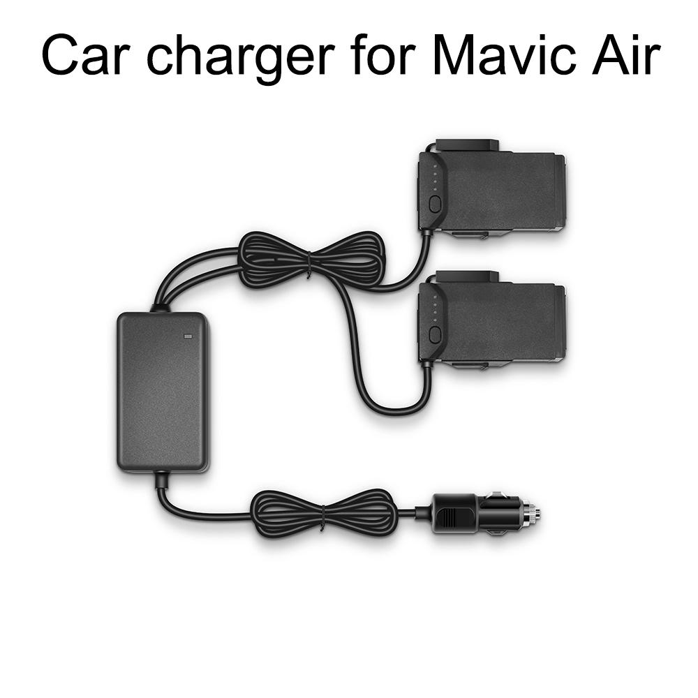 chargeur de voiture pour DJI Mavic Air avec 2 ports de charge de batterie