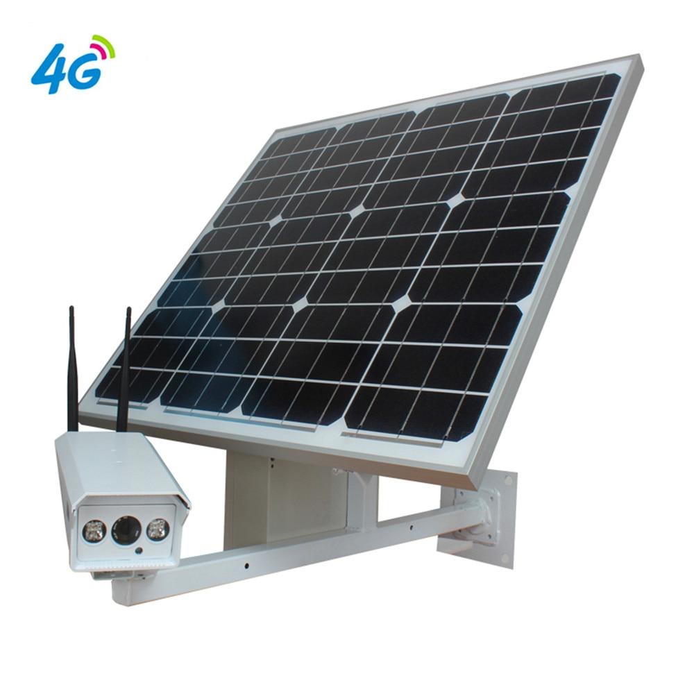 Caméra Vidéo Surveillance Solaire 1080 p 3g 4g