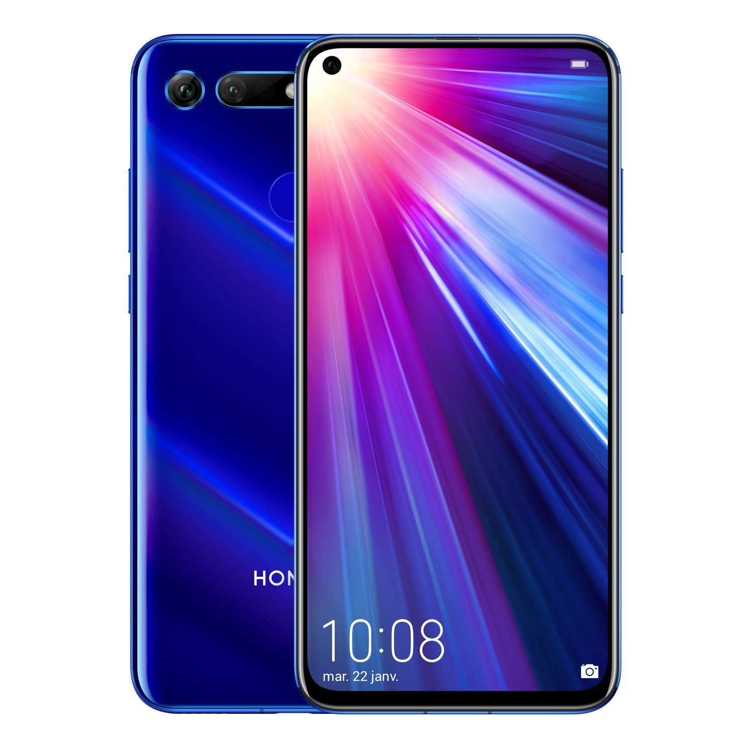 Honor View 20 bleu