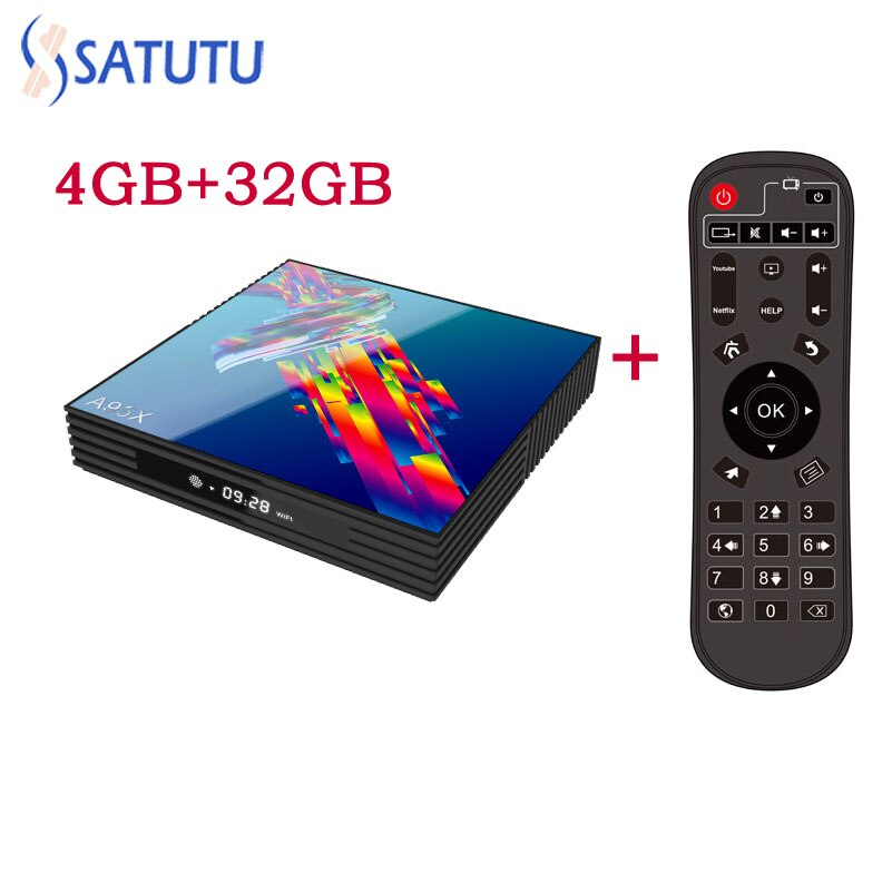 A95X R3 Smart Tv Box Android 9.0