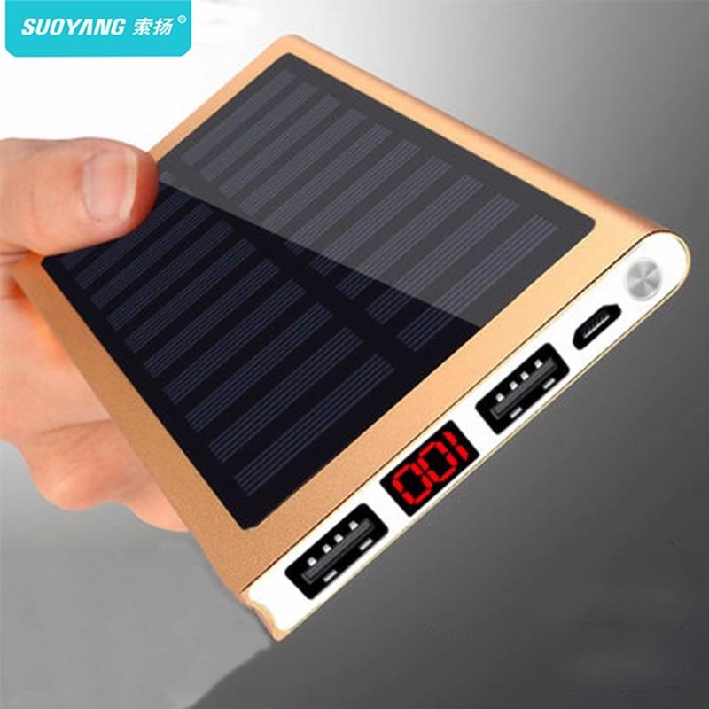 batterie externe Solaire 30000 mah