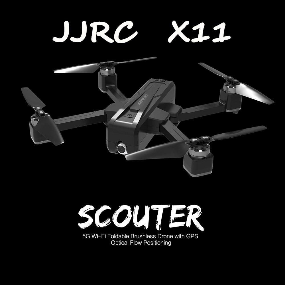 JJRC-X11-5G-pliable-GPS-RC-Drones-avec-2K-WIFI-FPV-cam-ra-de-nuit-vol