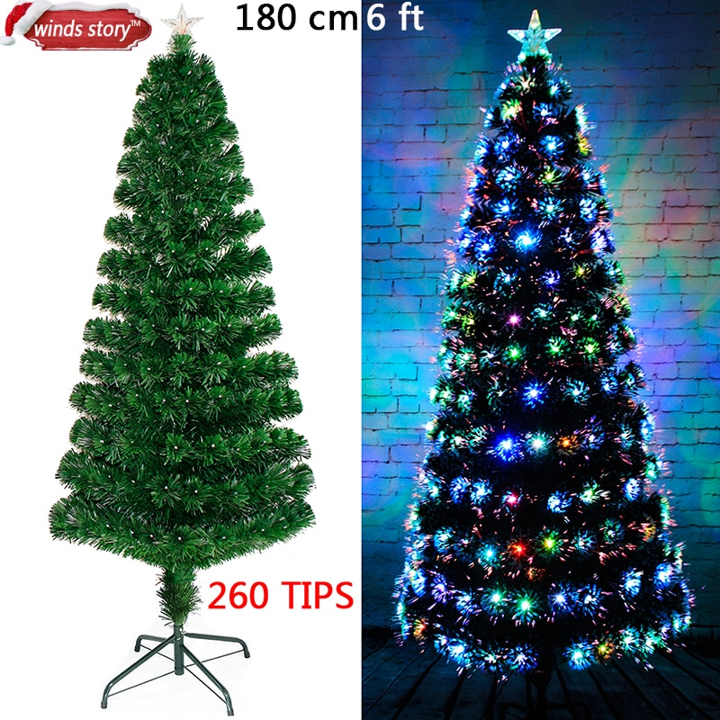 arbre de noël fibre optique 145 à 260 LED