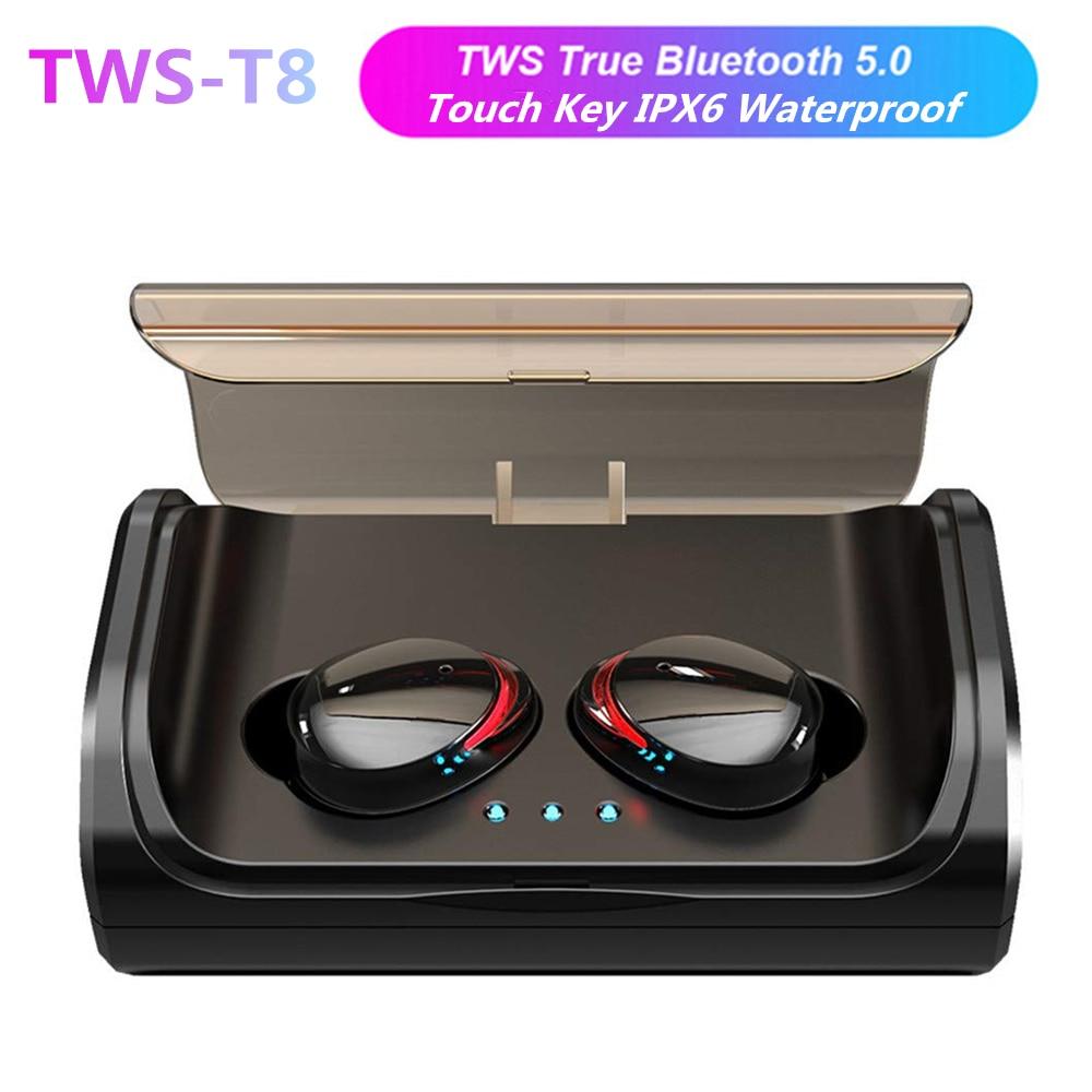 écouteurs intra-auriculaires T8 Mini TWS