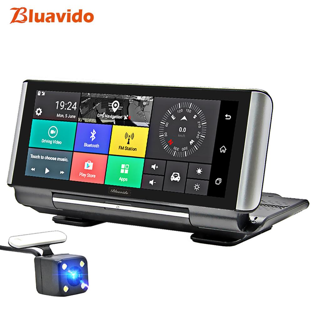 caméra voiture avec GPS Bluavido