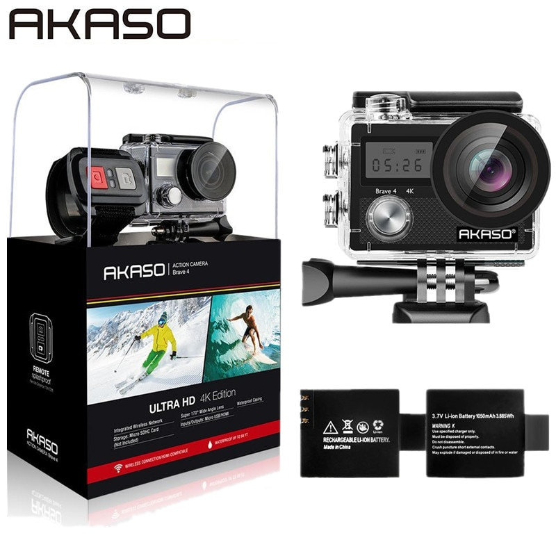 AKASO-cam-ra-d-action-ext-rieure-Brave-4-WIFI-4K-HD-tanche-cam-scope-plong
