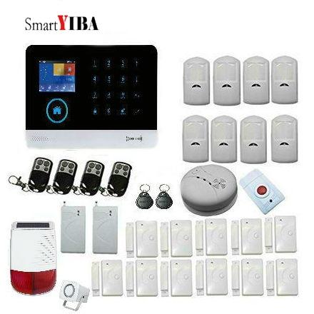 centrale d\'alarme SmartYIBA sécurité sans fil