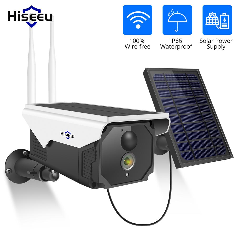 caméra WIFI Hiseeu 1080P solaire
