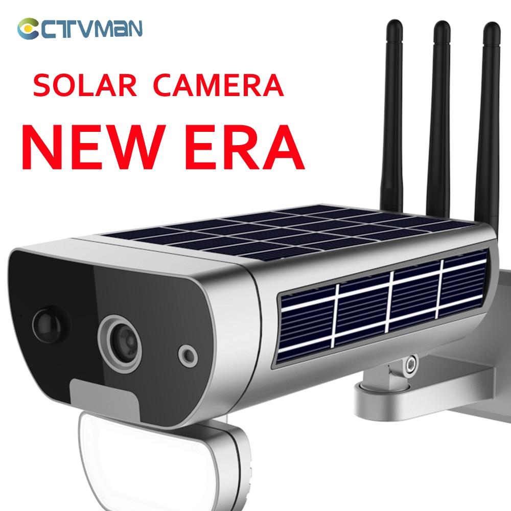 caméra extérieure sans fil CTVMAN 1080P solaire