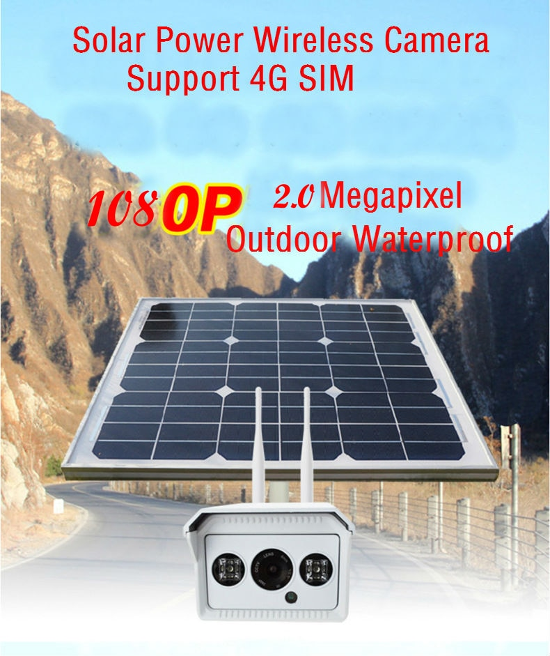 camera de surveillance Yobang Security ip solaire