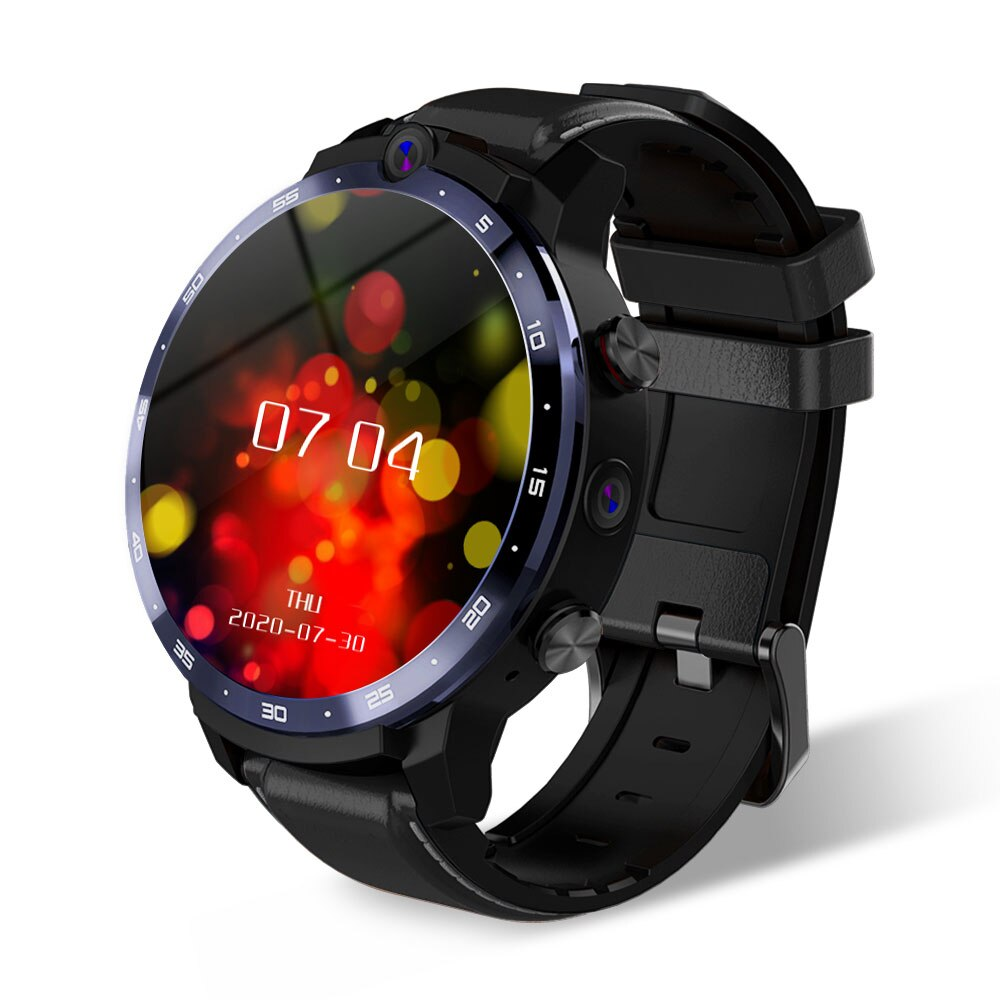 LEMFO-LEM12-PRO-Android-10-0-400-400-r-solution-HD-cran-GPS-4-64GB-montre