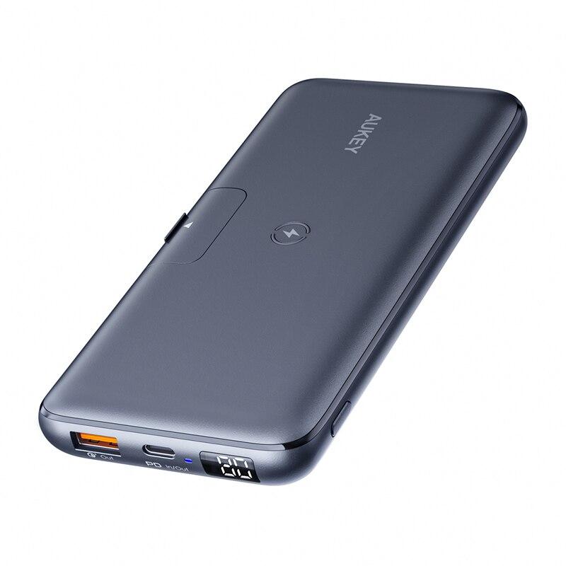 AUKEY-PB-WL03-20000mAh-PD-18W-batterie-d-alimentation-Mobile-avec-10W-sans-fil-charge-LED