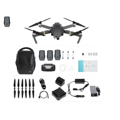 DJI Mavic Pro Fly More Combo avec 1 batterie supplementaire