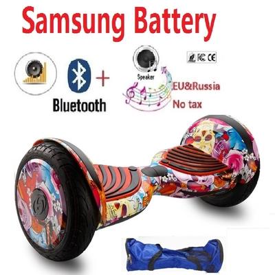 hoverboard roue 10 pouces avec batterie samsung. Bluetooth