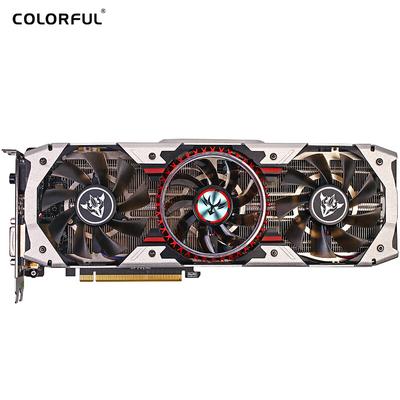 COLORFUL GPU iGame GTX 1080Ti Vulcan