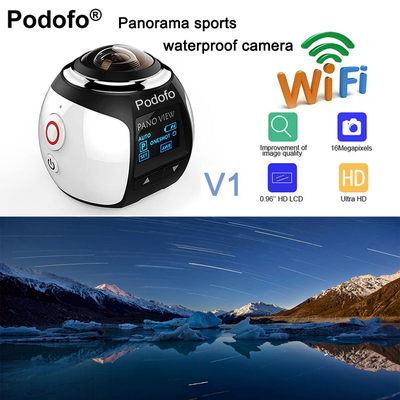 Podofo HD 360 Caméra Ultra Mini Panoramique
