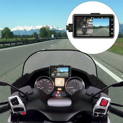 Caméra DVR special moto et scooter avec 2 caméras résolution vidéo 1280x720
