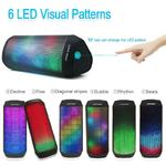 Bluetooth-Haut-Parleur-Portable-LED-Sans-Fil-haut-parleur-Color-Lumi-re-Affichage-Visuel-Mode-Puissant