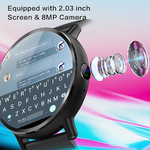 LEMFO-LEM-X-Android-7-1-4G-2-03-Inch-900Mah-8MP-Camera-Ip67-Waterproof-Luxury