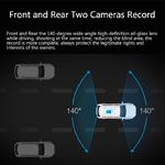 JADO-D800-voiture-Dvr-flux-r-troviseur-cam-ra-LDWS-GPS-piste-10-IPS-cran-tactile