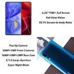 Elephone-U2-16MP-Pop-Up-cam-ra-t-l-phone-Mobile-Android-9-0-MT6771T-Octa