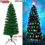 D-corations-de-no-l-4-5-6-fibre-optique-arbre-de-no-l-LED-changement