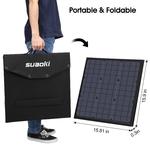 Suaoki-120W-pliable-panneau-solaire-chargeur-avec-PD-type-c-DC-USB-QC-3-0-et