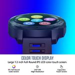 Zeblaze-VIBE-5-PRO-couleur-cran-tactile-Smartwatch-fr-quence-cardiaque-multi-sports-suivi-Smartphone-Notifications