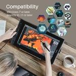 HUION-Kamvas-Pro-16-15-6-pouces-266PPS-tablette-graphique-dessin-tablette-moniteur-num-rique-8192