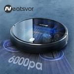 Aspirateur-Robot-d-aspiration-NEATSVOR-X520-6000Pa-nettoyage-humide-par-balayage-Navigation-sur-carte-APP-Robot