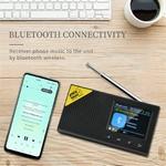 Radio-num-rique-Bluetooth-sans-fil-Portable-DAB-DAB-et-r-cepteur-FM-Rechargeable-l-ger
