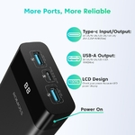 ROMOSS-PPD20-50W-batterie-d-alimentation-20000-mAh-PD-QC-Charge-rapide-20000-mAh-Powerbank-chargeur
