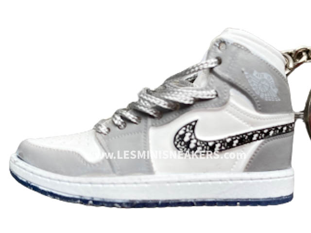 Portes clés sneakers 3D - Air Jordan 1 - les-minis-sneakers