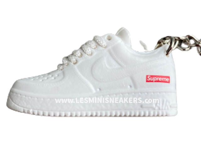 Porte clés sneakers Air Force 1 SUP White