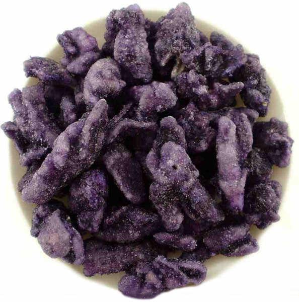 Fleurs de Violettes Cristalisees