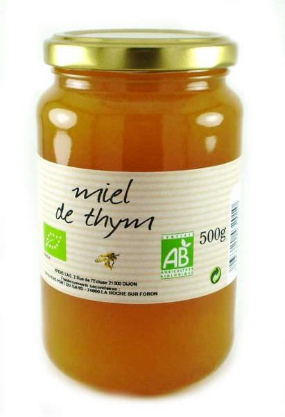 miel de thym bio vente en ligne