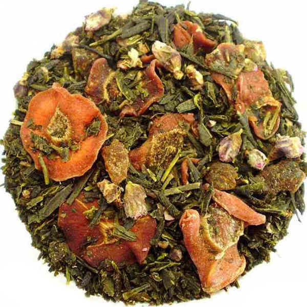 The Vert Parfume Algue Kombu Noix Coco