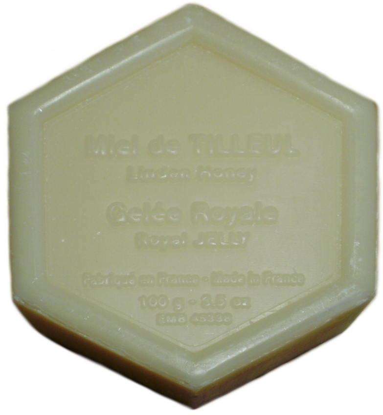 Savon Gelée Royale et Miel de Tilleul Pur Gégétal Made in France