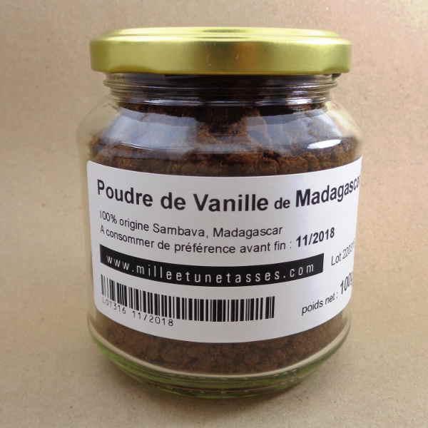 poudre de vanille bourbon