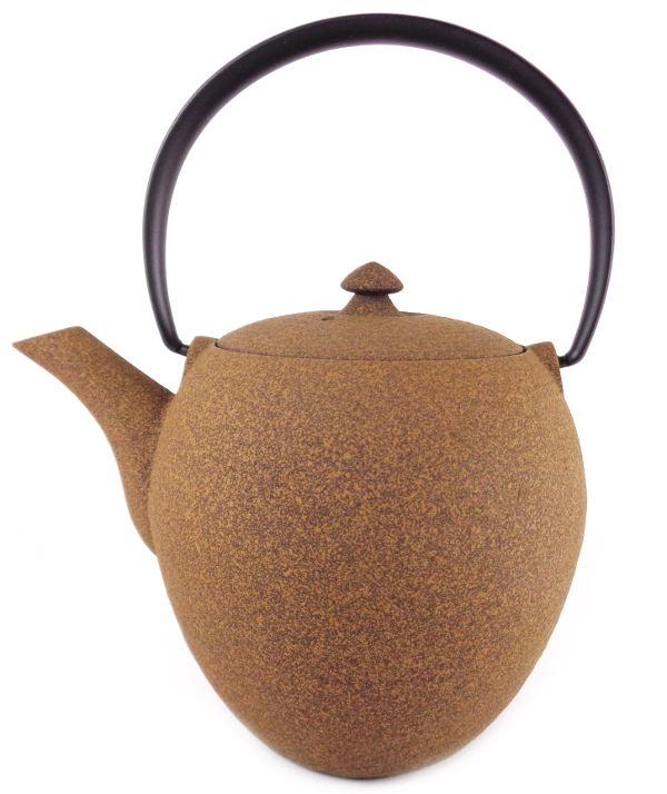 Th i re japonaise en fonte premium wazuqu mayu bronze sable 0 55 litre - Theiere japonaise en fonte ...