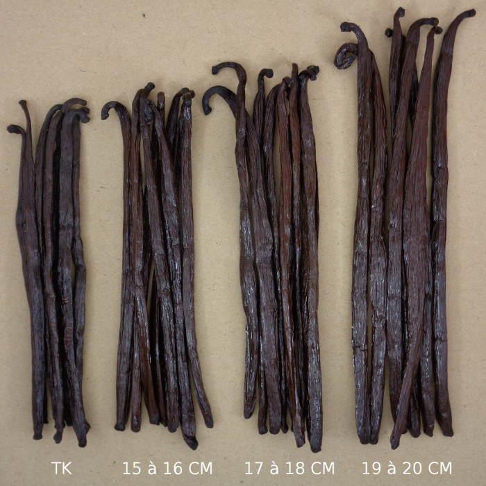 Gousses de Vanille Bio de Madagascar Gamme Complete