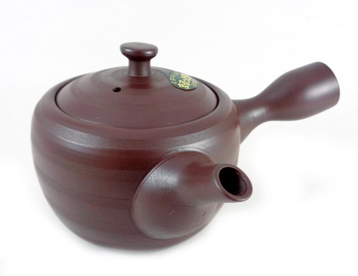 Théière Japonaise Terre Cuite Kyusu Filtre Inox 270 ml