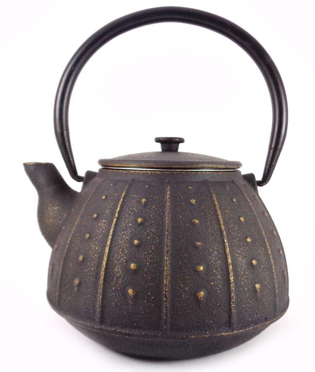 Théière en Fonte de Chine Ming Yue Gold Café